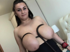 Helen Star busty honey smacking..